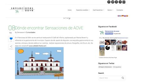 www.sensaove.com - 8 Febrero 2014