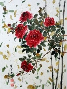 b-1-rosa-roja-46x64cm-papel-de-arbol-en-pegado-de-hojas-naturales-con-tinta-natural