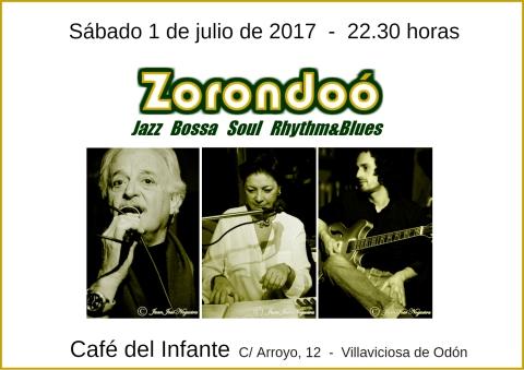 Cartel Zorondoo Infante1julio2017